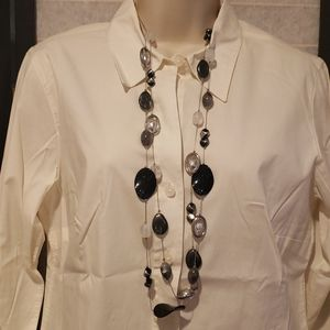 NY&CO Silvertone Necklace